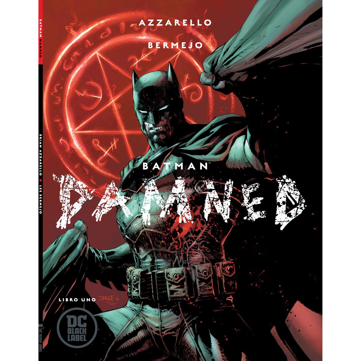 Comic Batman Damned Azarello Bermejo