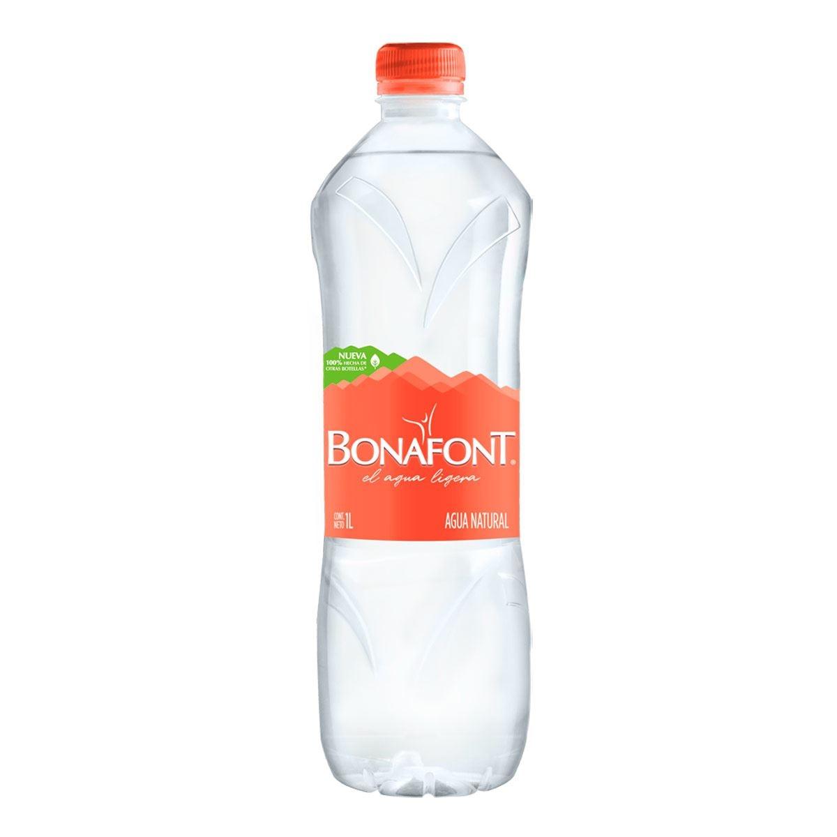 Agua Bonafont 1 lt
