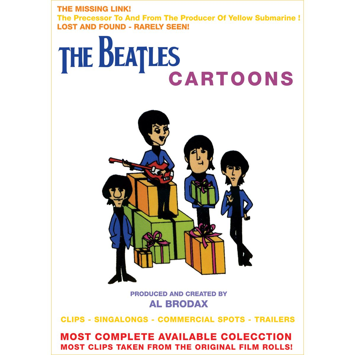 Dvd the beatles-cartoons  - Sanborns