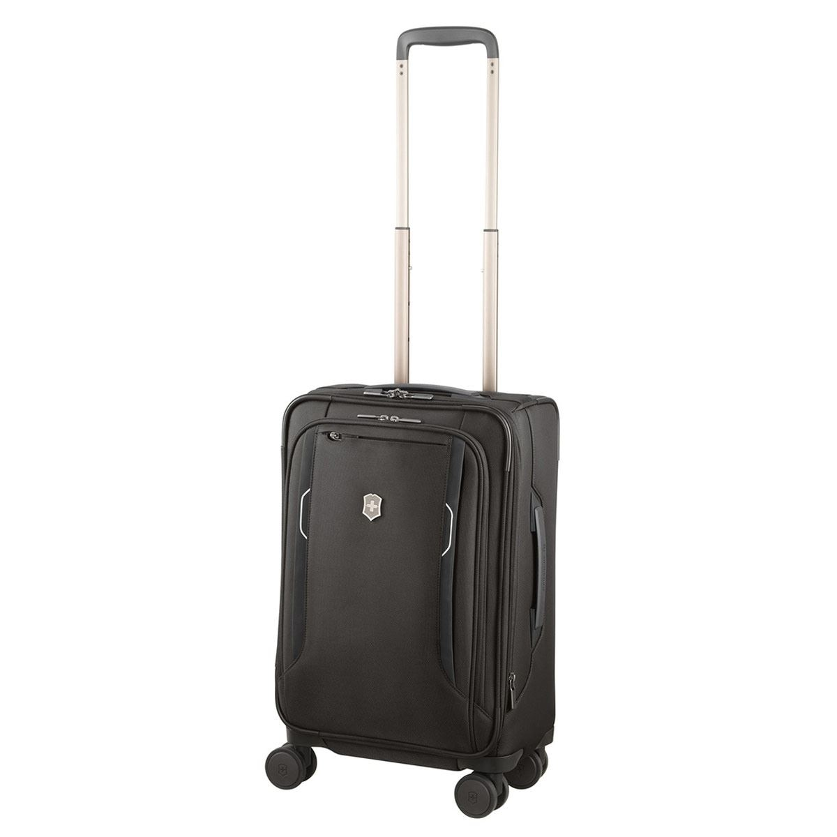 Werks Traveler 6.0, Frequent Flyer Softside Carry-On, Black