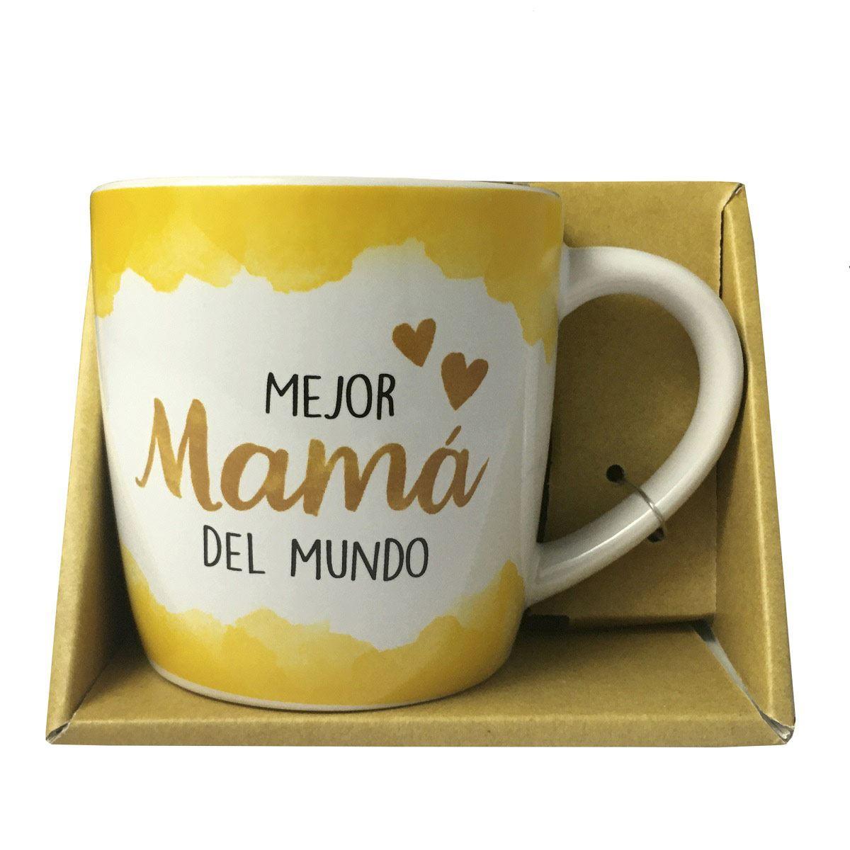 Taza de Porcelana Mejor Mamá del Mundo