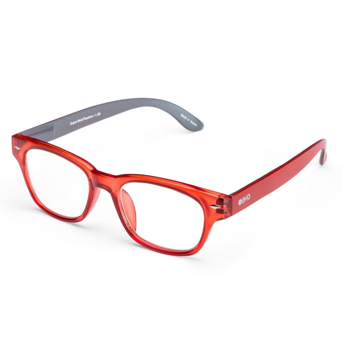 Lentes de lectura pregraduados super bold matt red +2.00  - Sanborns