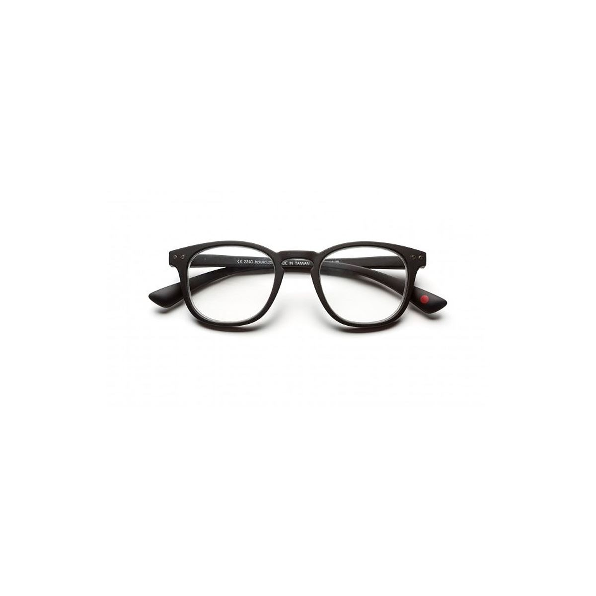 Lentes pre graduados dot reader matt black  +2.00  - Sanborns