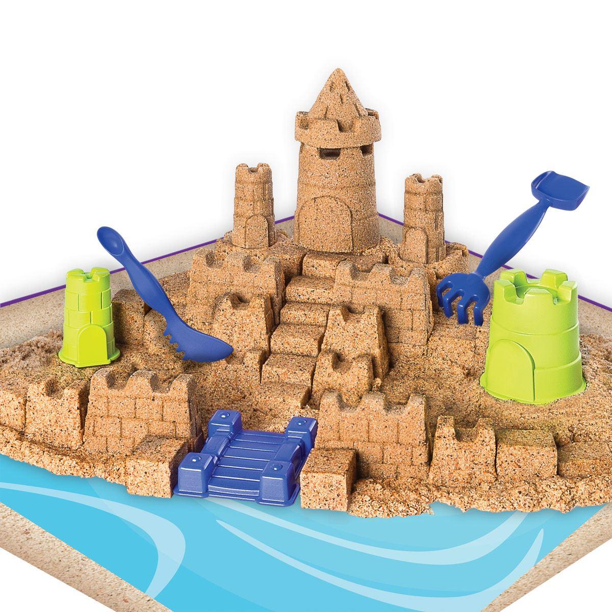 Set Castillo de Arena de Playa de Kinetic Sand