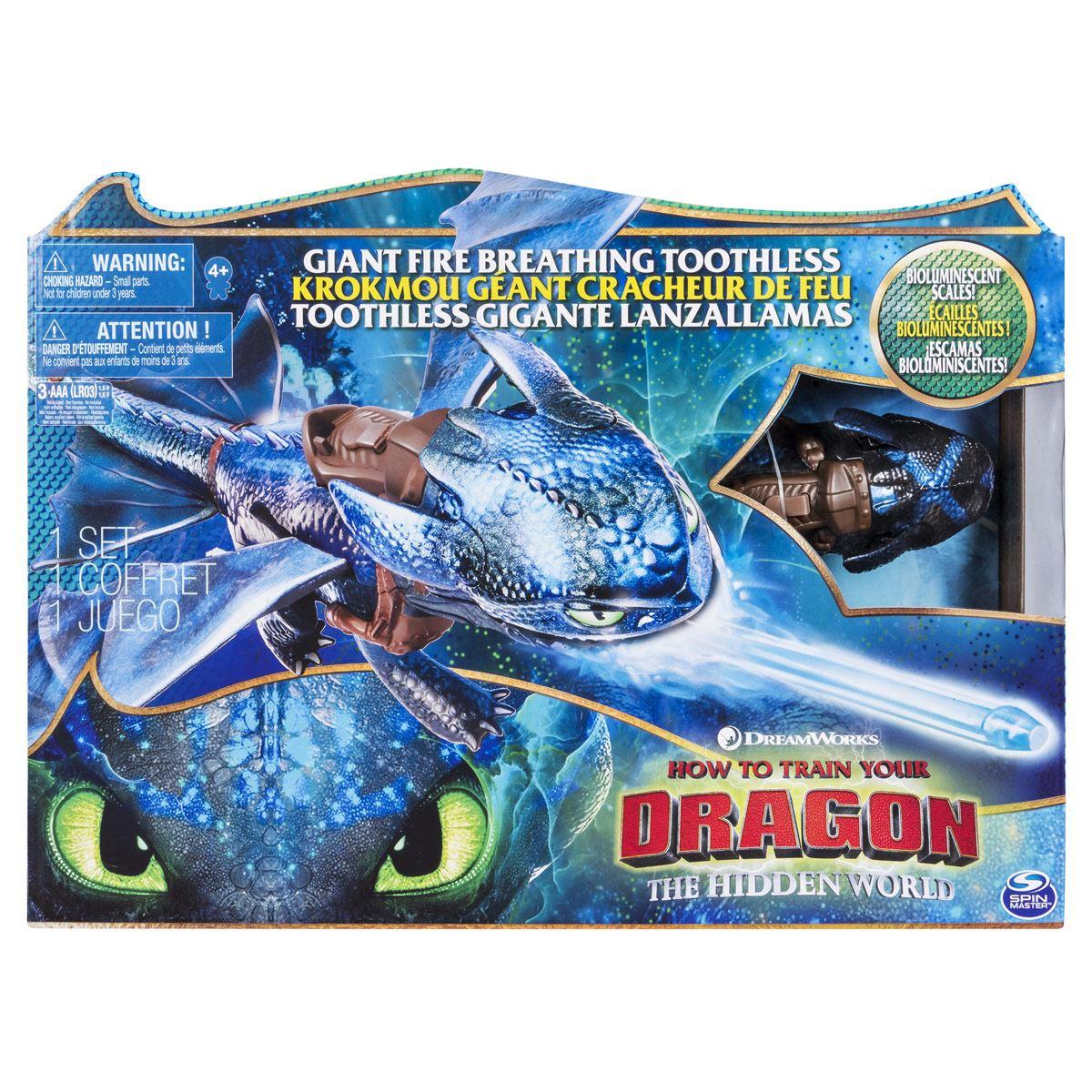 Dragón Lanza Fuego de Como Entrenar a Tu Dragón