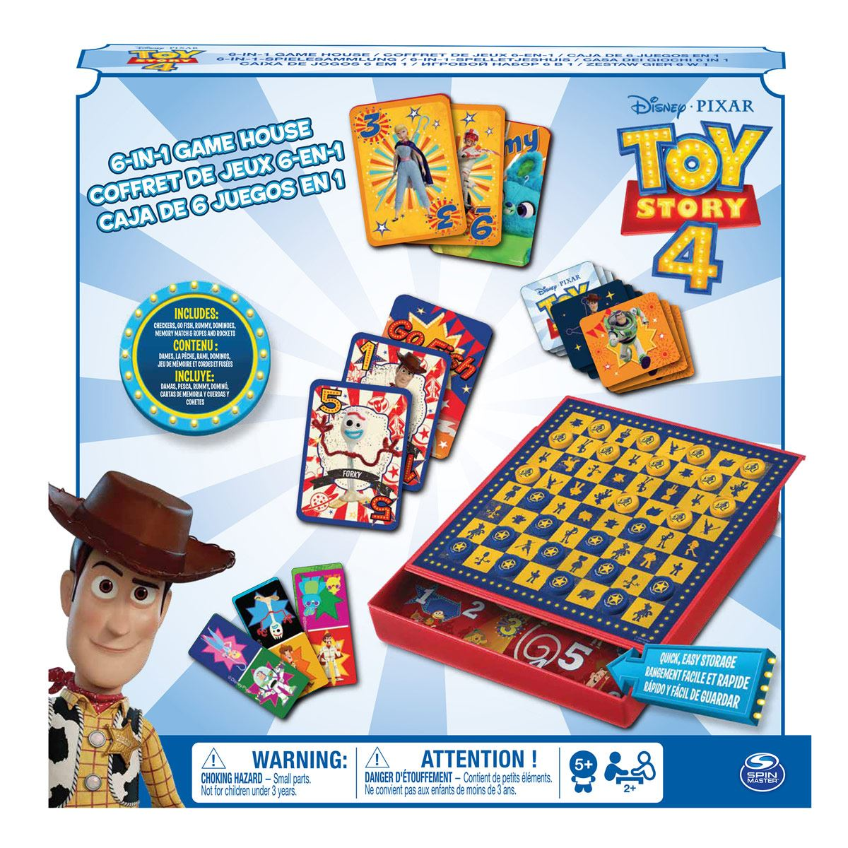 Set de Juego Toy Story 4 Spin Master