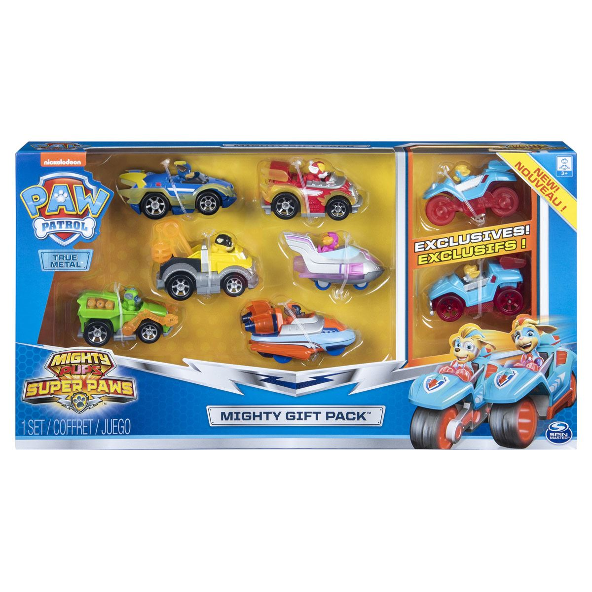 Set Die-Cast Mighty Twins Paw Patrol