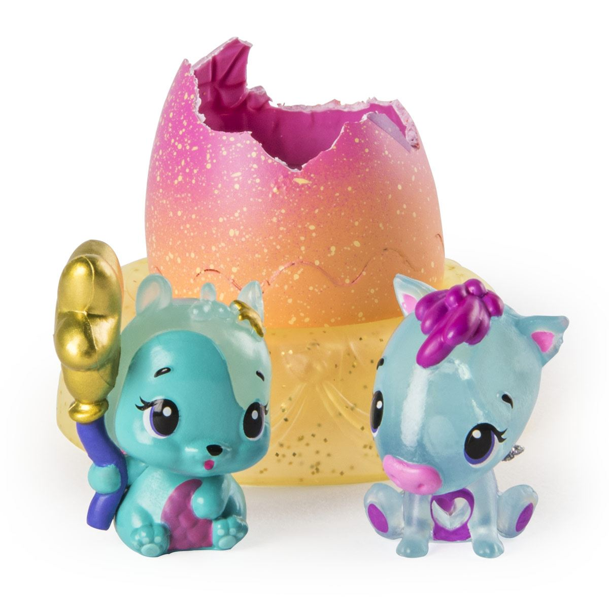 Hatchimals Coleccionables 2 Figuras + Nido