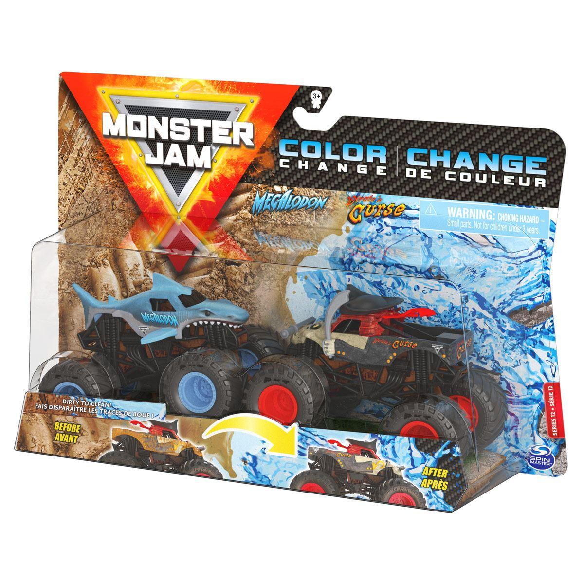 1:62 2 Pack Monster Jam