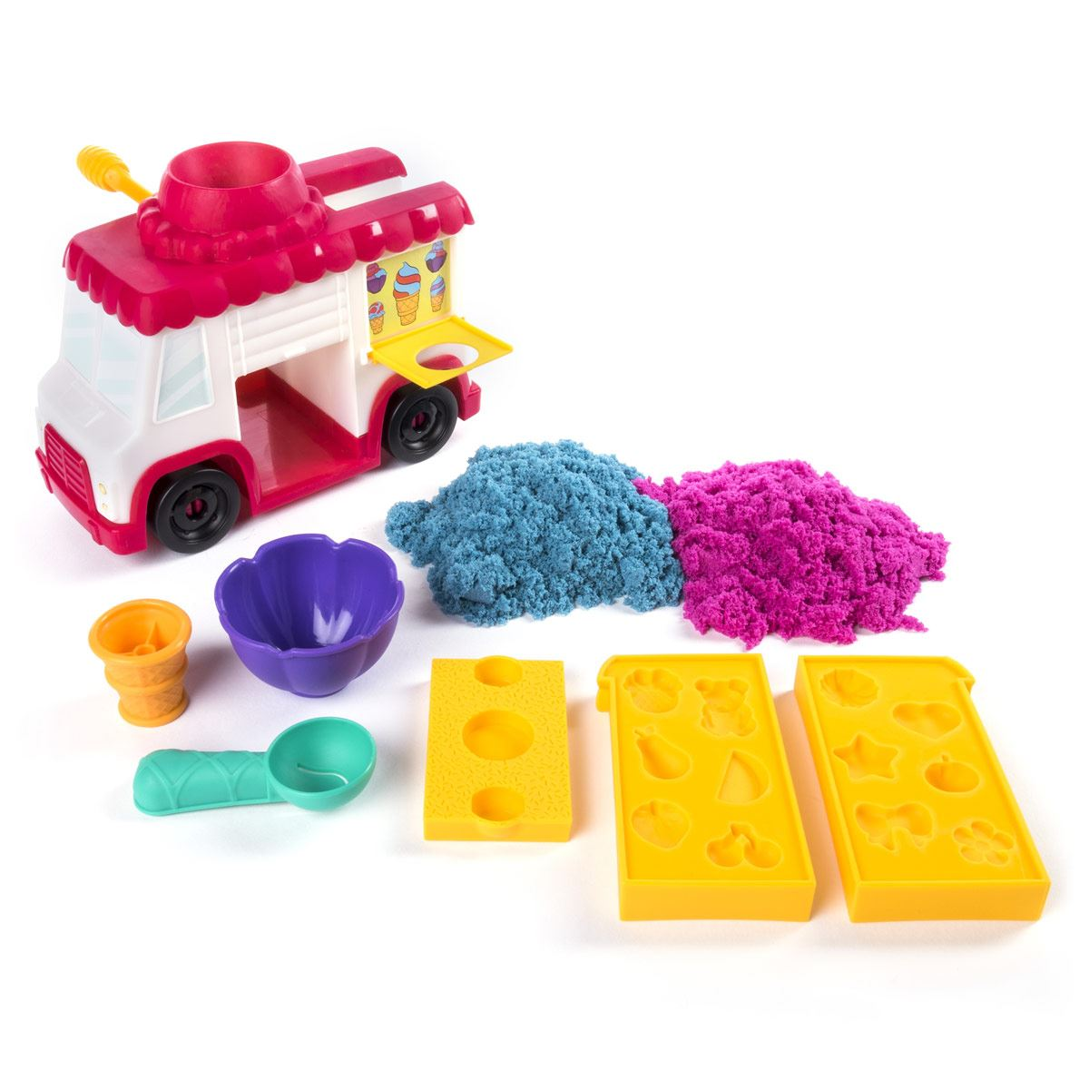 Set Camión de Helados Kinetic Sand