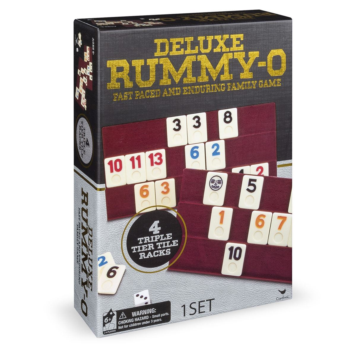 Juego de Mesa Rummy - O Deluxe