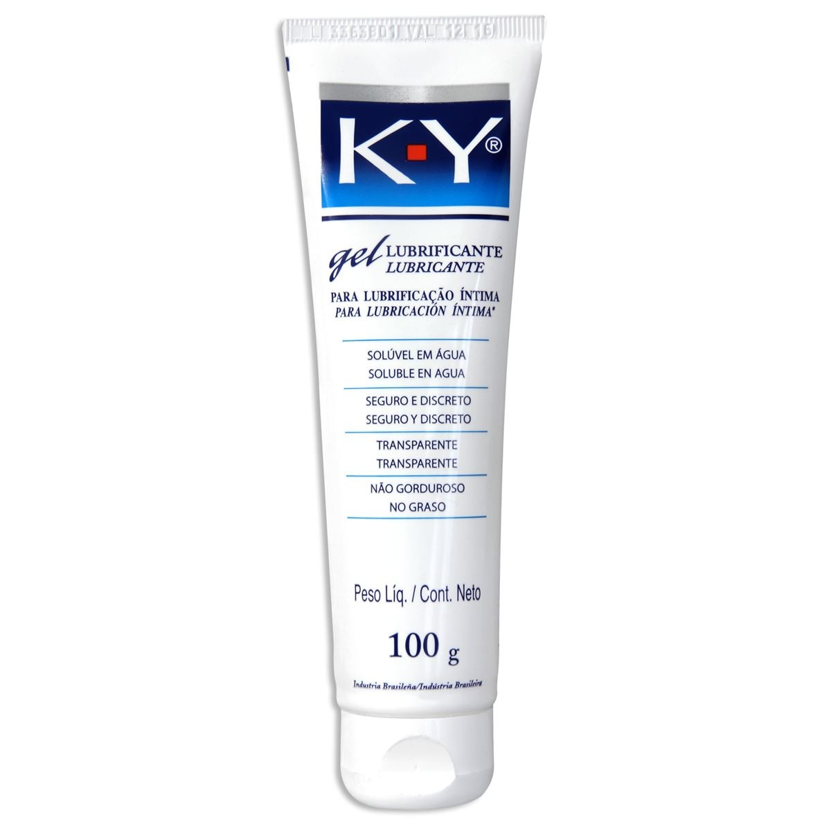 Ky jelly gel lubricante 100g  - Sanborns