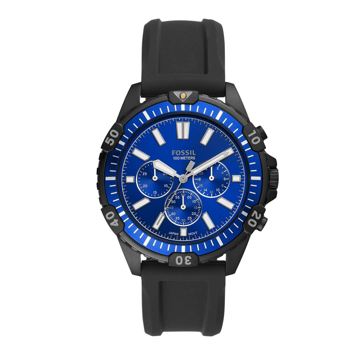 Reloj Fossil Garrett color Negro FS5695 Para Caballero