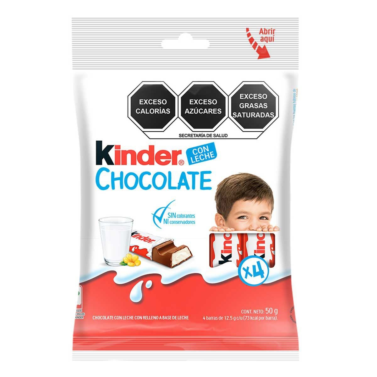 Kinder Chocolate T4x20x8 Flowpack