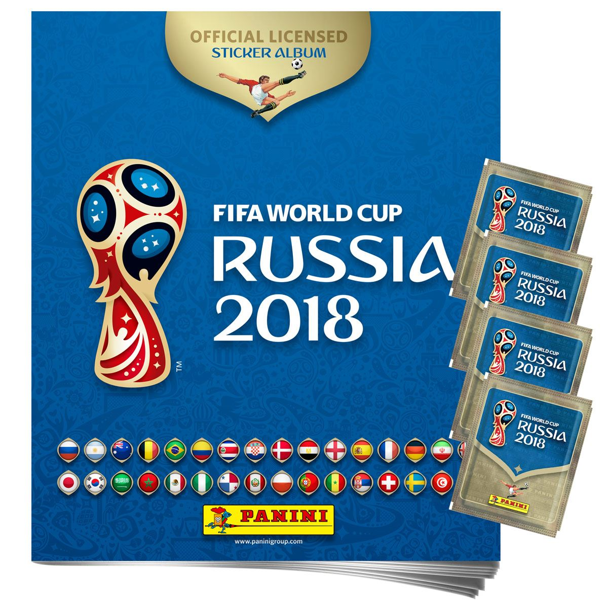 Panini Álbum 4s world cup 2018 Libro - Sanborns