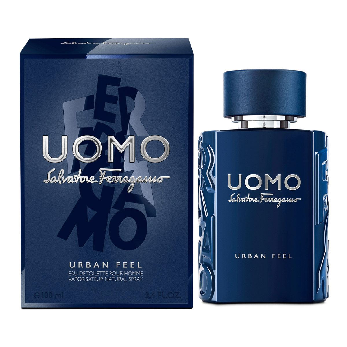 Fragancia Para Caballero Uomo Urban Feel EDT 100ml Ferragamo