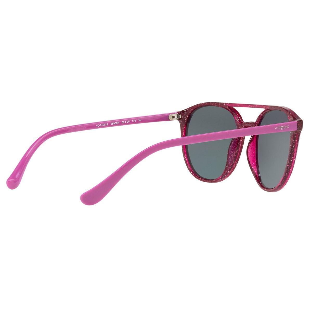 Vogue gris-oro rosa espejado armazón violeta  - Sanborns