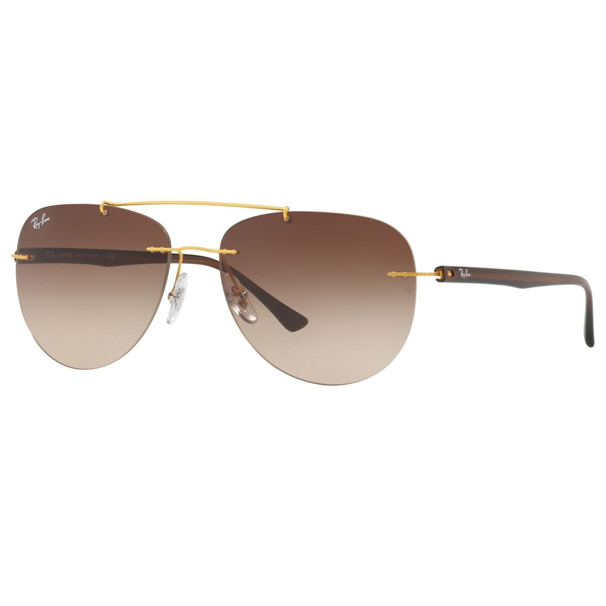 b1d85a363b096 Ray ban marrón degradado armazón oro - Sanborns