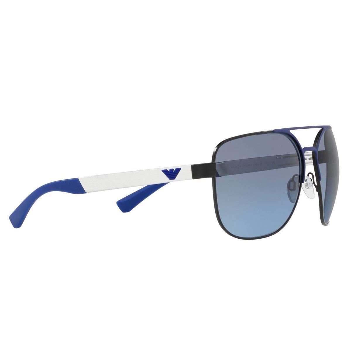 Lente solar Emporio Armani azul