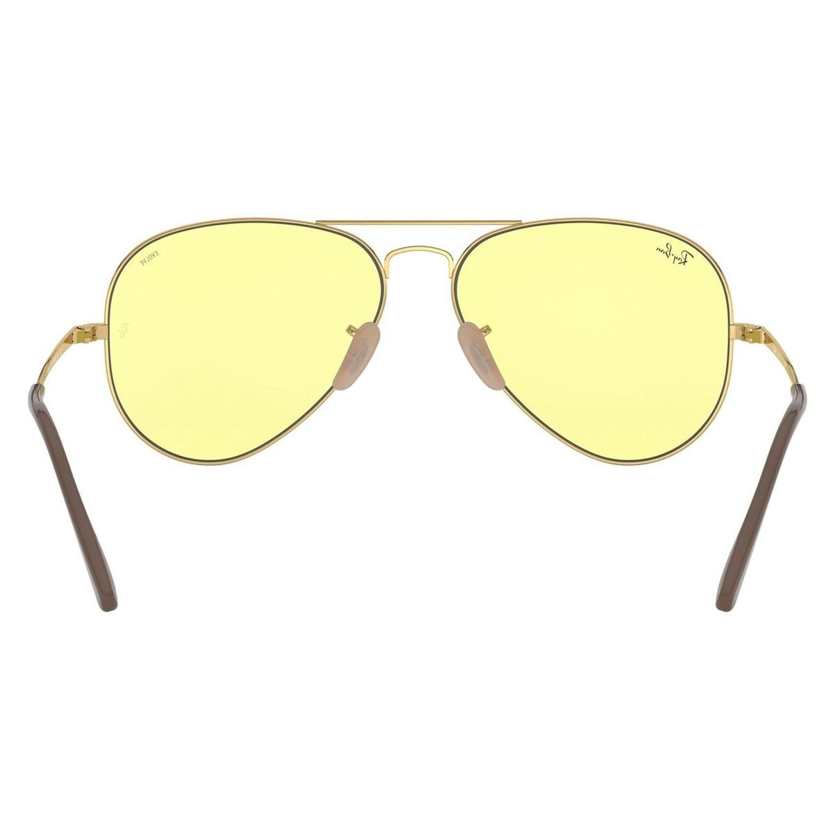 Lente solar Ray-Ban Aviator Metal