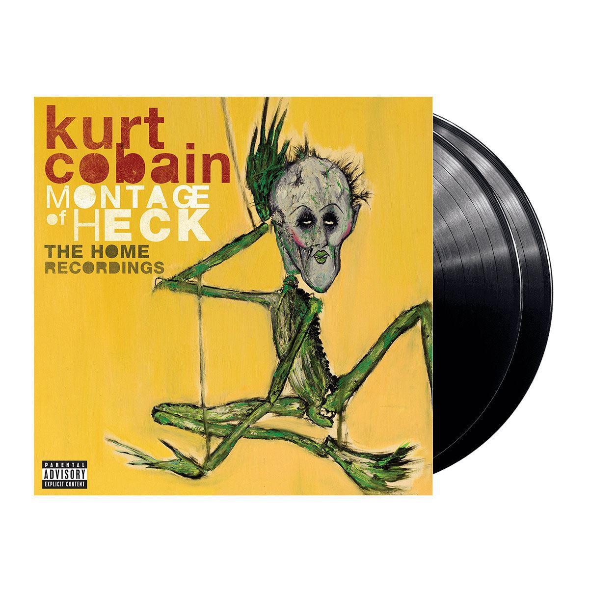 LP2 Kurt Cobain- Montage Of Heck: The Home Recordings