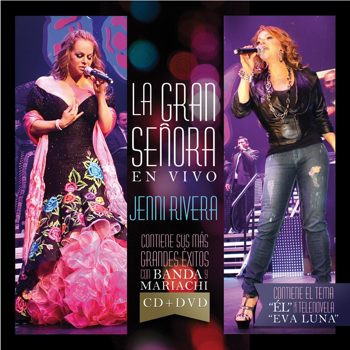 Cd/ dvd jenni rivera- la gran señora (en vivo)  - Sanborns