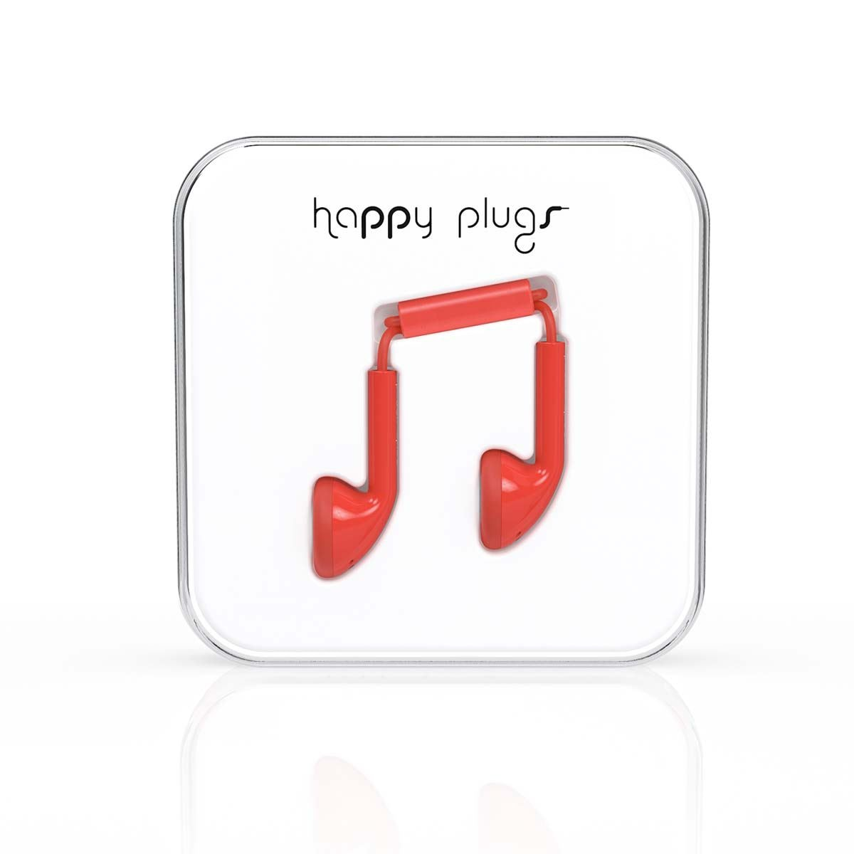 Audífonos happy plugs 7701 rojo  - Sanborns