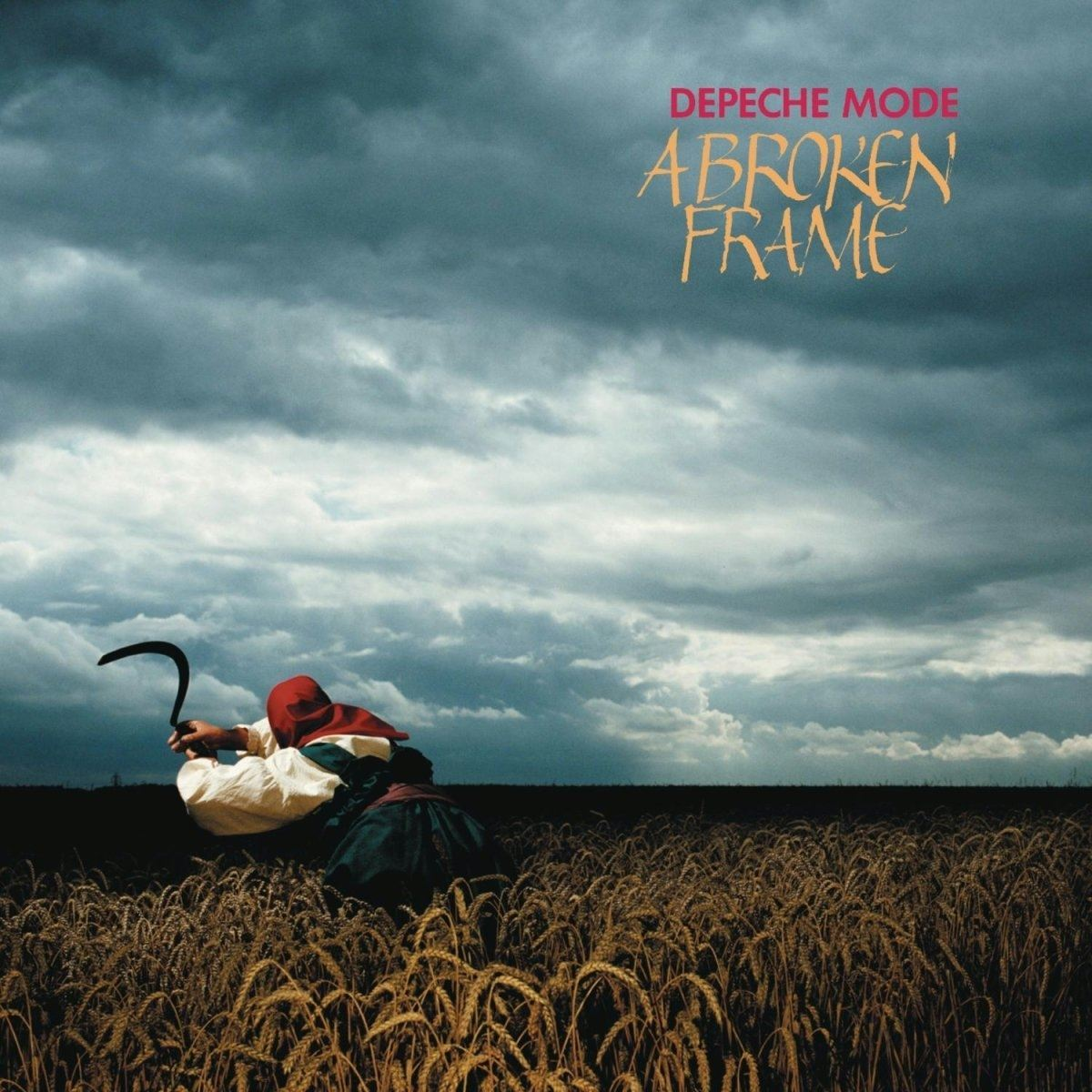 CD Depeche Mode-A Broken Frame