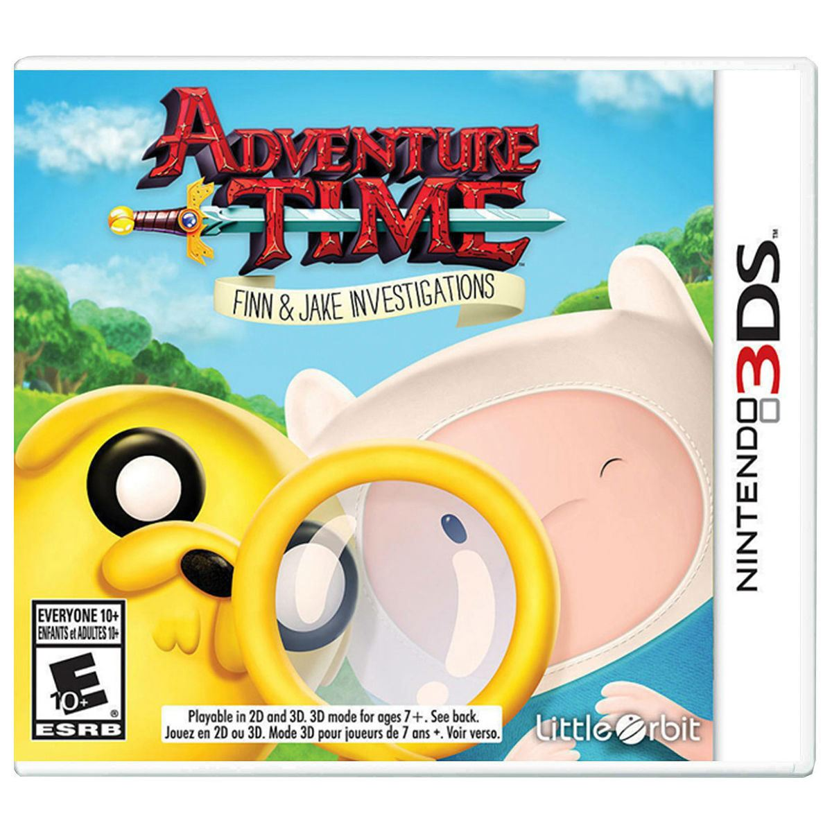 Adventure Time Finn And Jake Nintendo 3DS