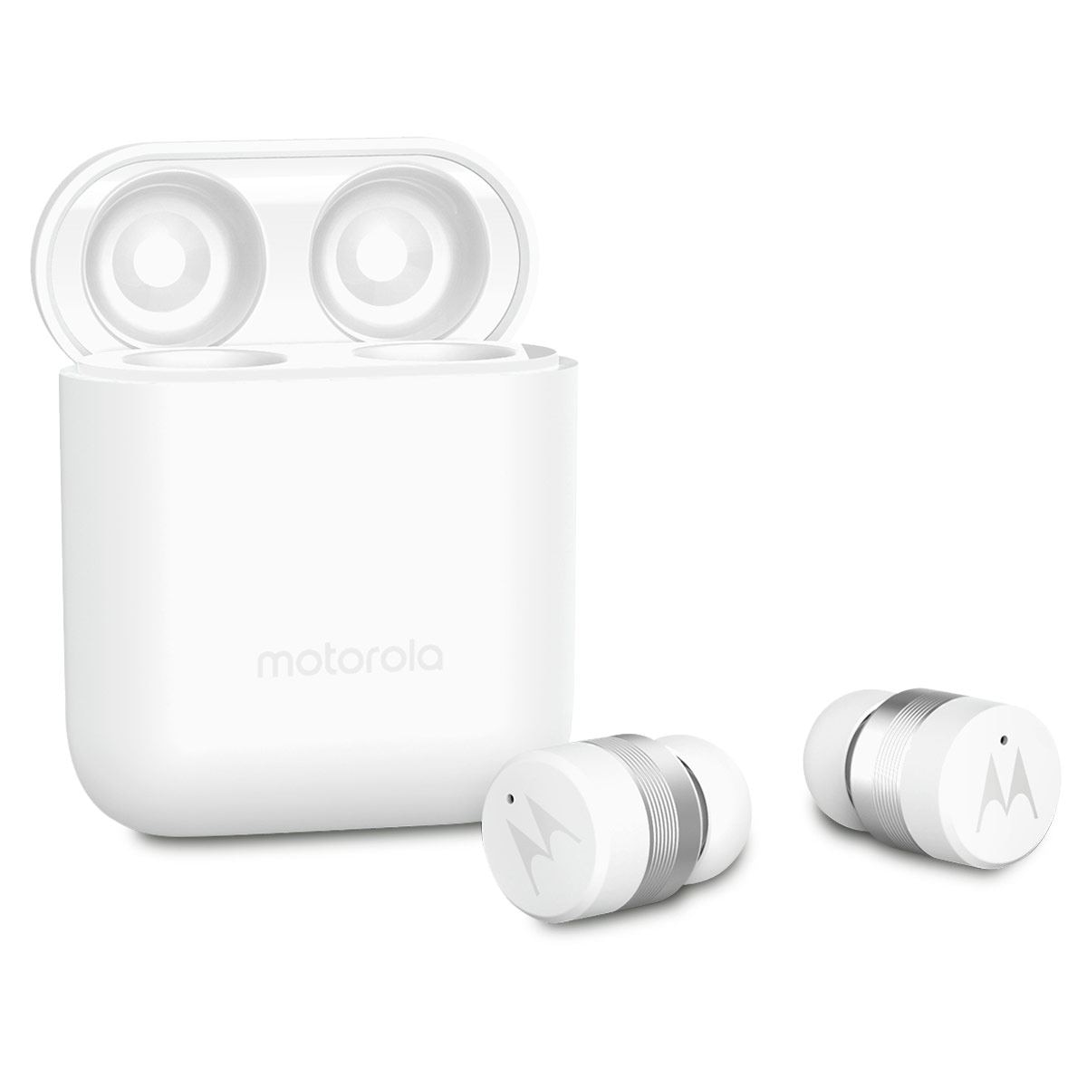 Audífonos Motorola Vervebud 110 True Wireless Blancos