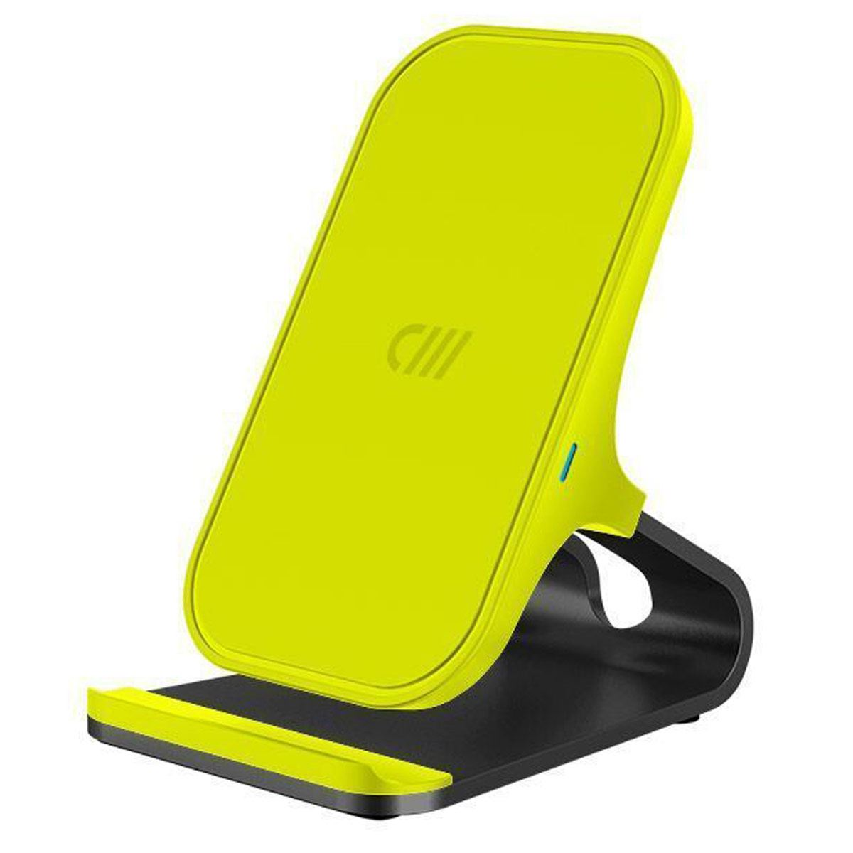 Cargador Wireless Charger Stand Neón Yellow Candywirez