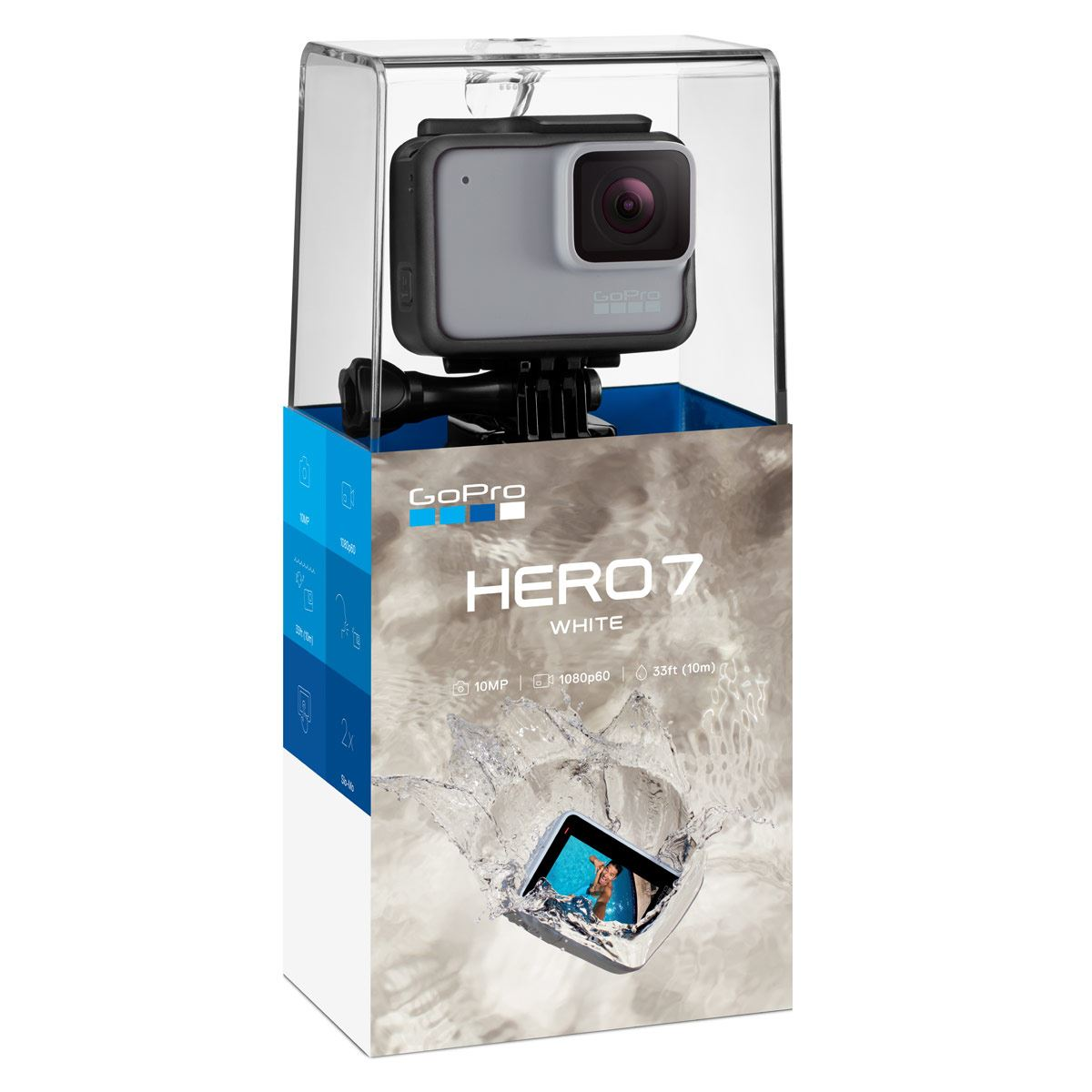 Videocámara gopro hero 7 white  - Sanborns