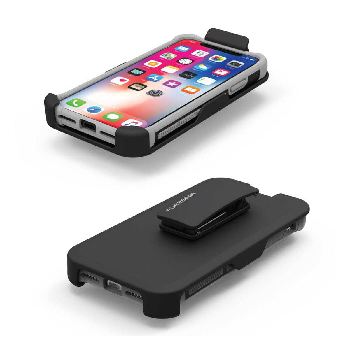 Funda puregear iphone x negro dualtek  - Sanborns