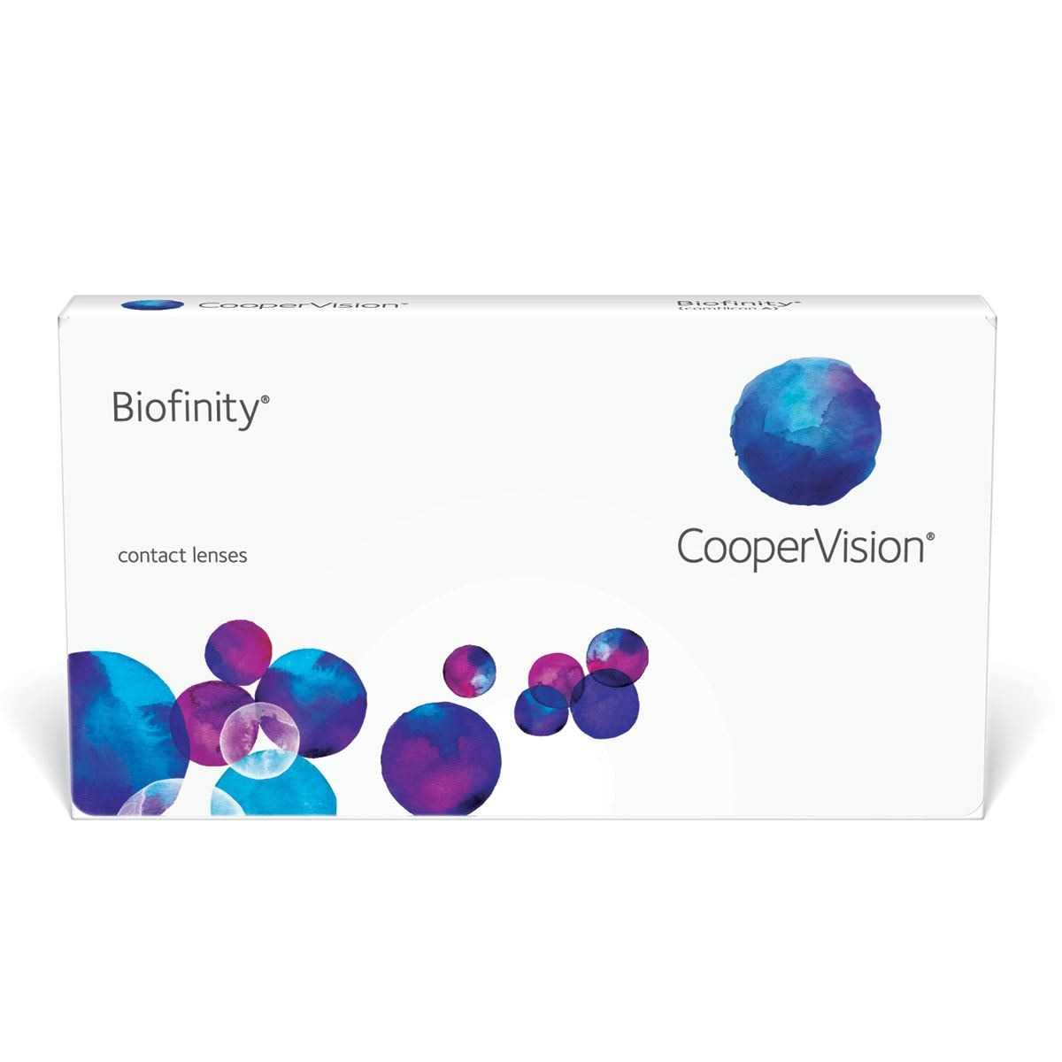 Lente de contacto hidrogel biofinity/6 -2.50  - Sanborns