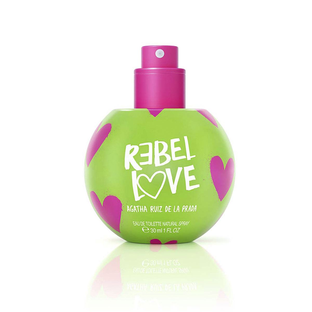 Fragancia para Dama, Agatha Ruiz de la Prada, Bubbles Rebel Love EDT 30ML