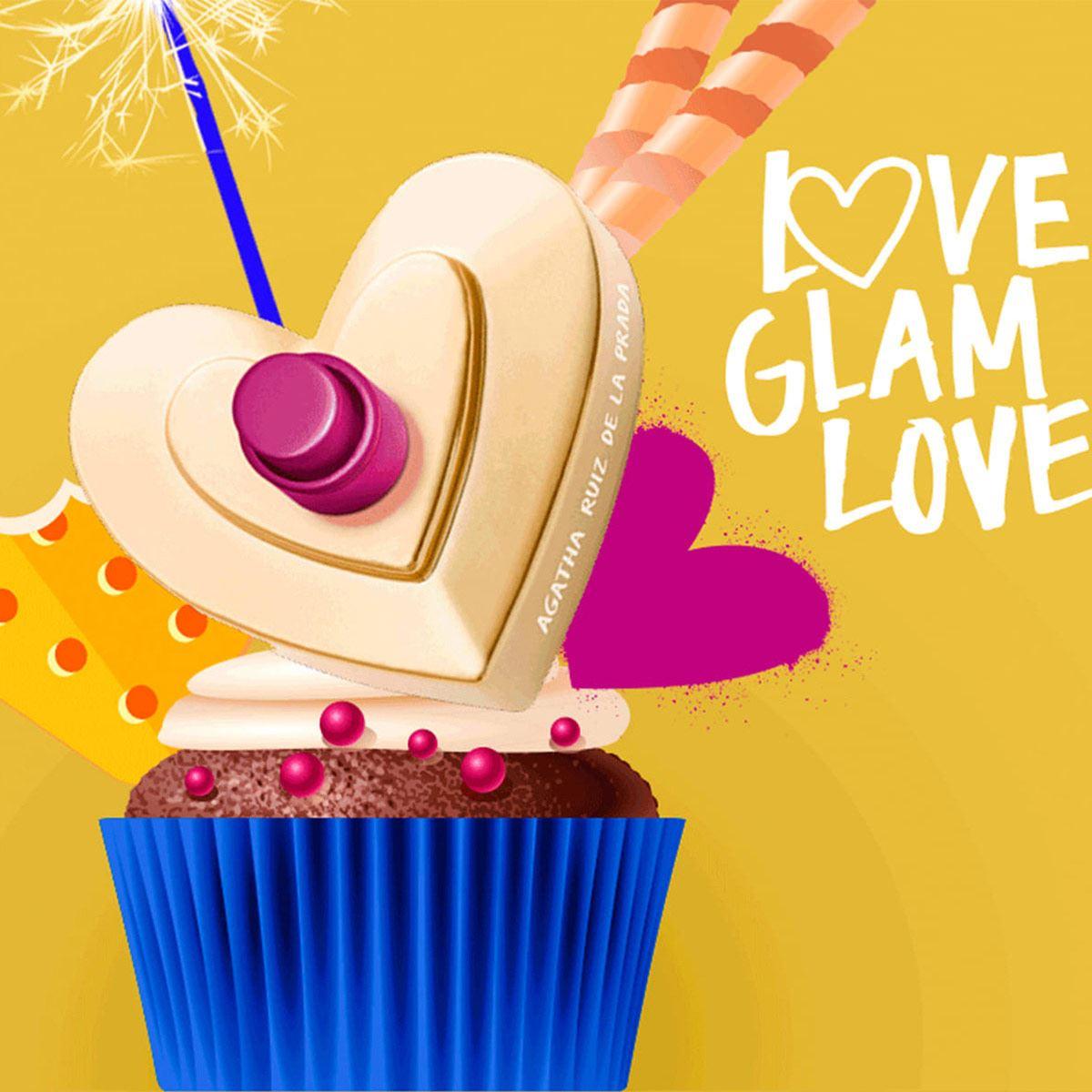 Fragancia Para Dama , Agatha Ruiz de la Prada, Love Glam Love Smoothie Collector EDT 80ML