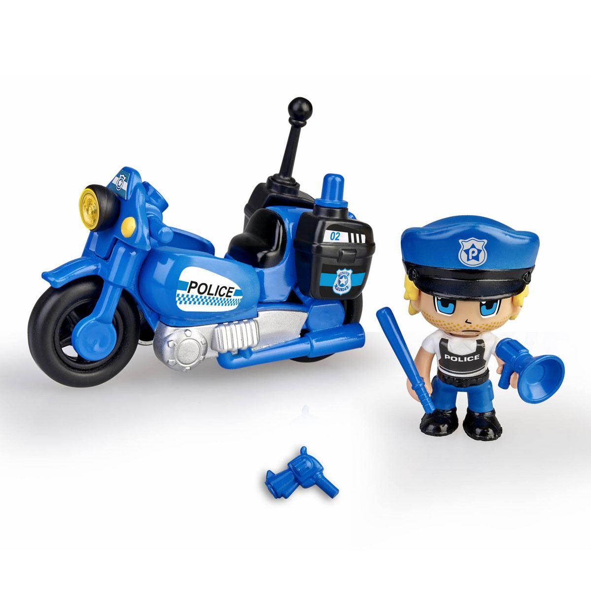 E-8 Pinypon Action Police Motorbike