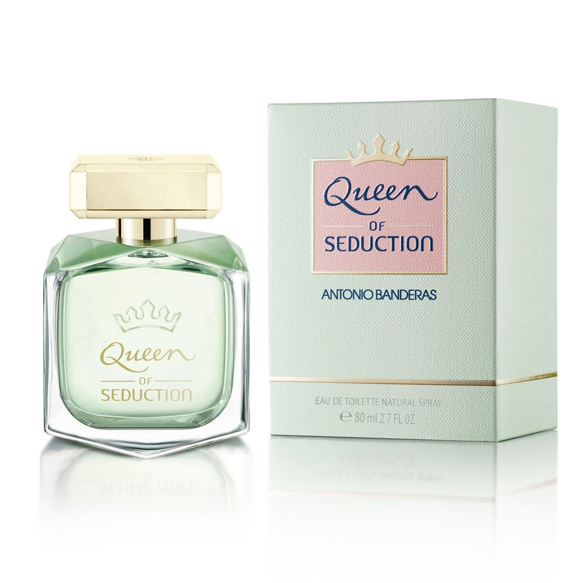 Fragancia para dama antonio banderas queen of seduction edt 80 ml  - Sanborns