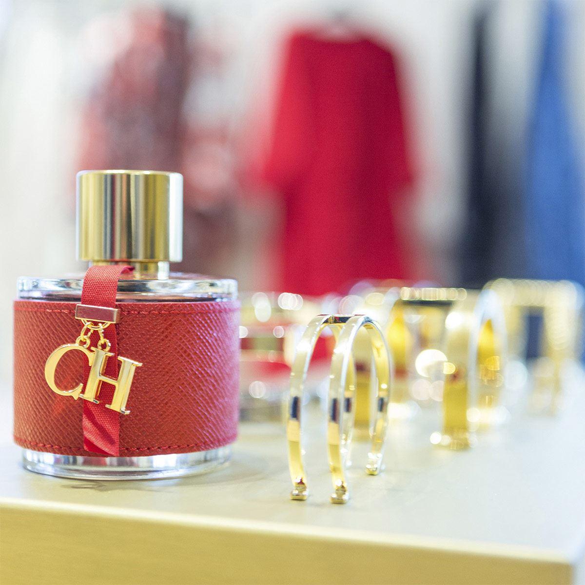 Set para dama, Carolina Herrera, CH, EDT 100 ML + Body lotion 100ML