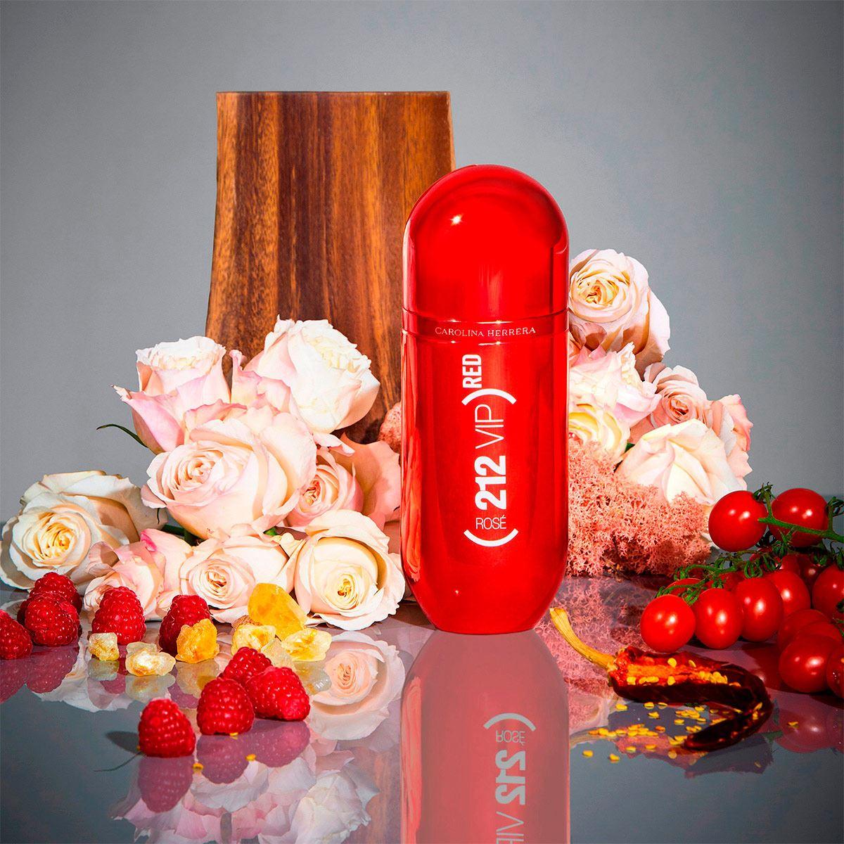 Fragancia para Dama 212 VIP Rosé (Red) Carolina Herrera 80 ML