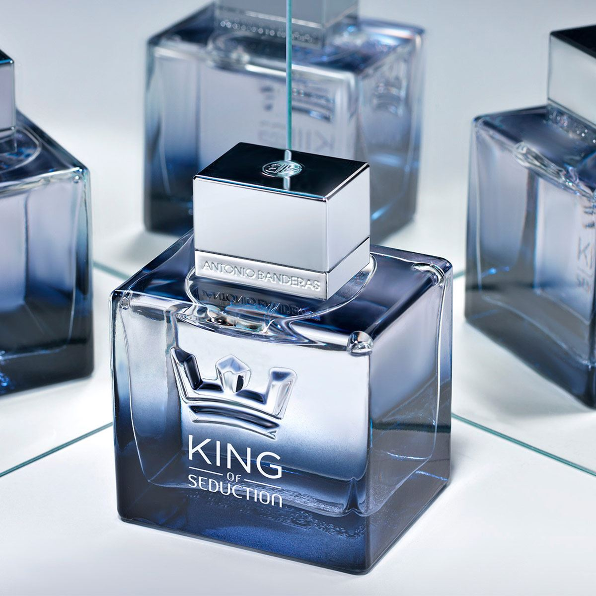 set para Caballero Antonio Banderas King of Seduction, 100ML  + Aftter Shave 75ML