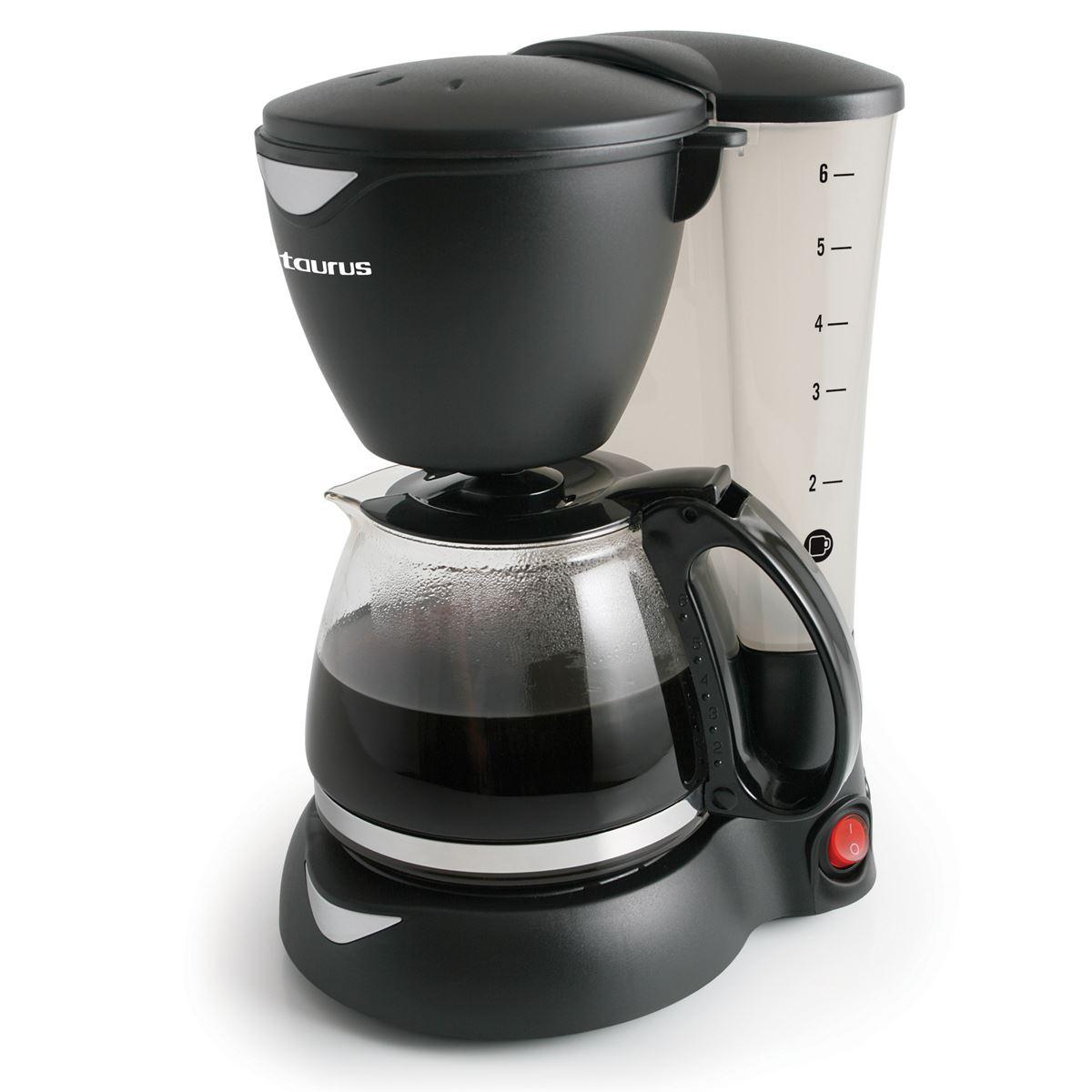 Cafetera Coffeemax 6 para 6 Tazas Taurus