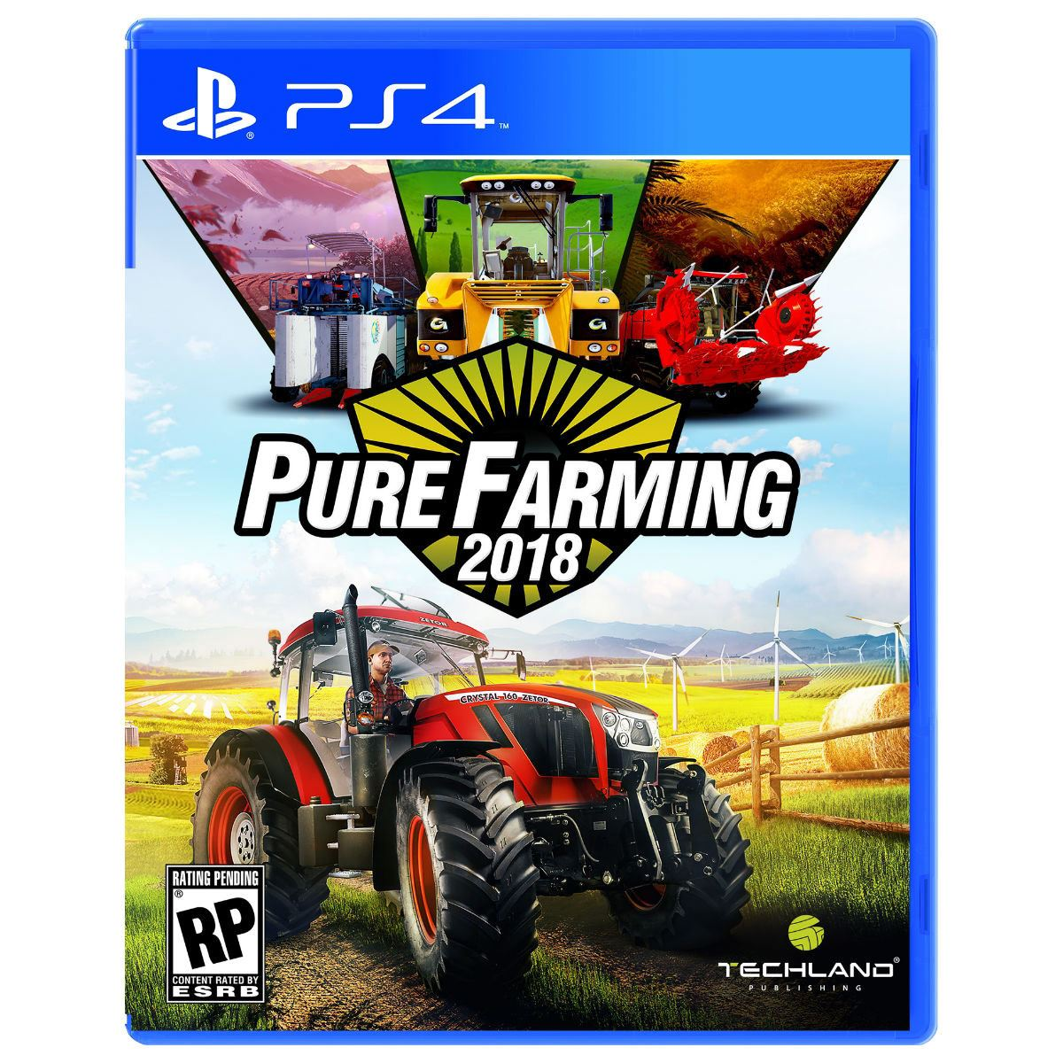Pure Farming 2018 Day 1 PlayStation 4