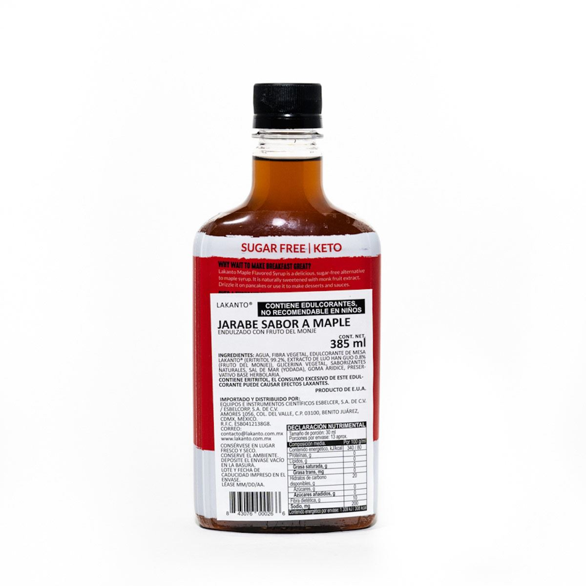 Lakato Maple Flavored Syrup