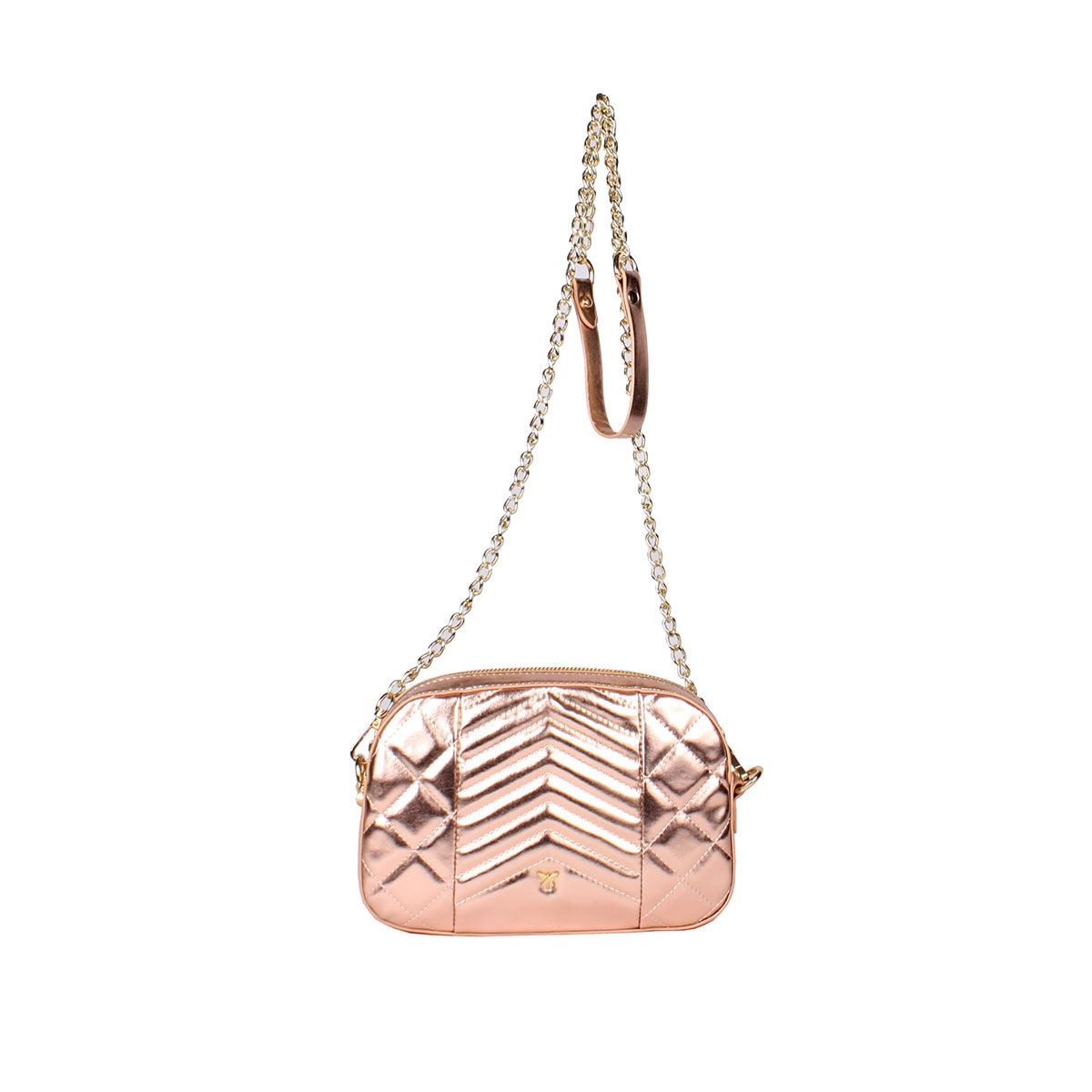 Bolso pepe moll cross body color golden  - Sanborns