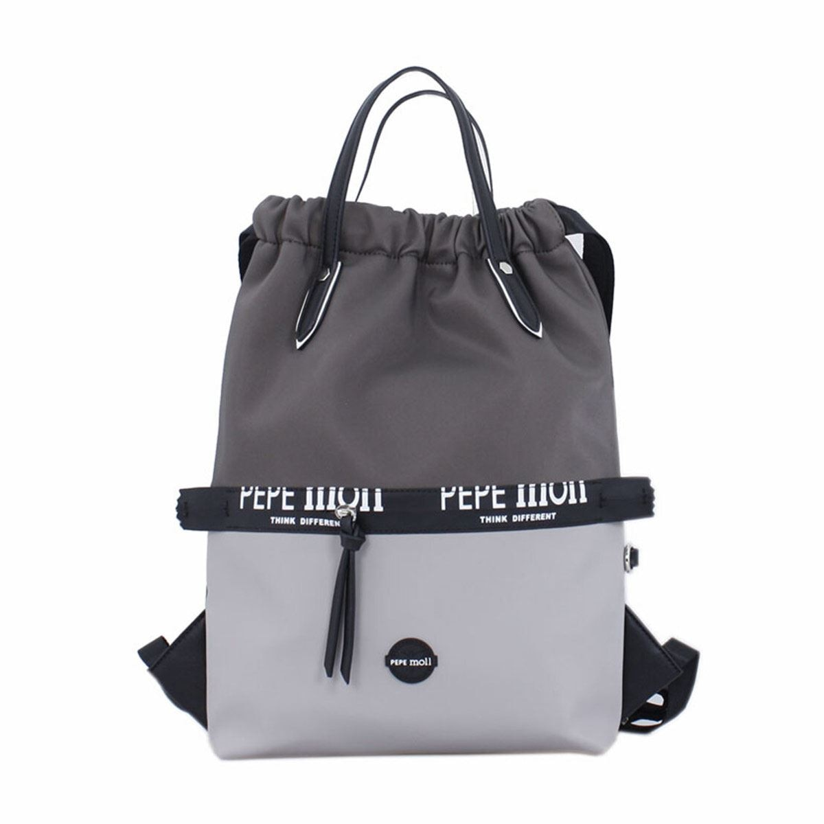 Bolso Back Pack tricolor gris Pepe Moll