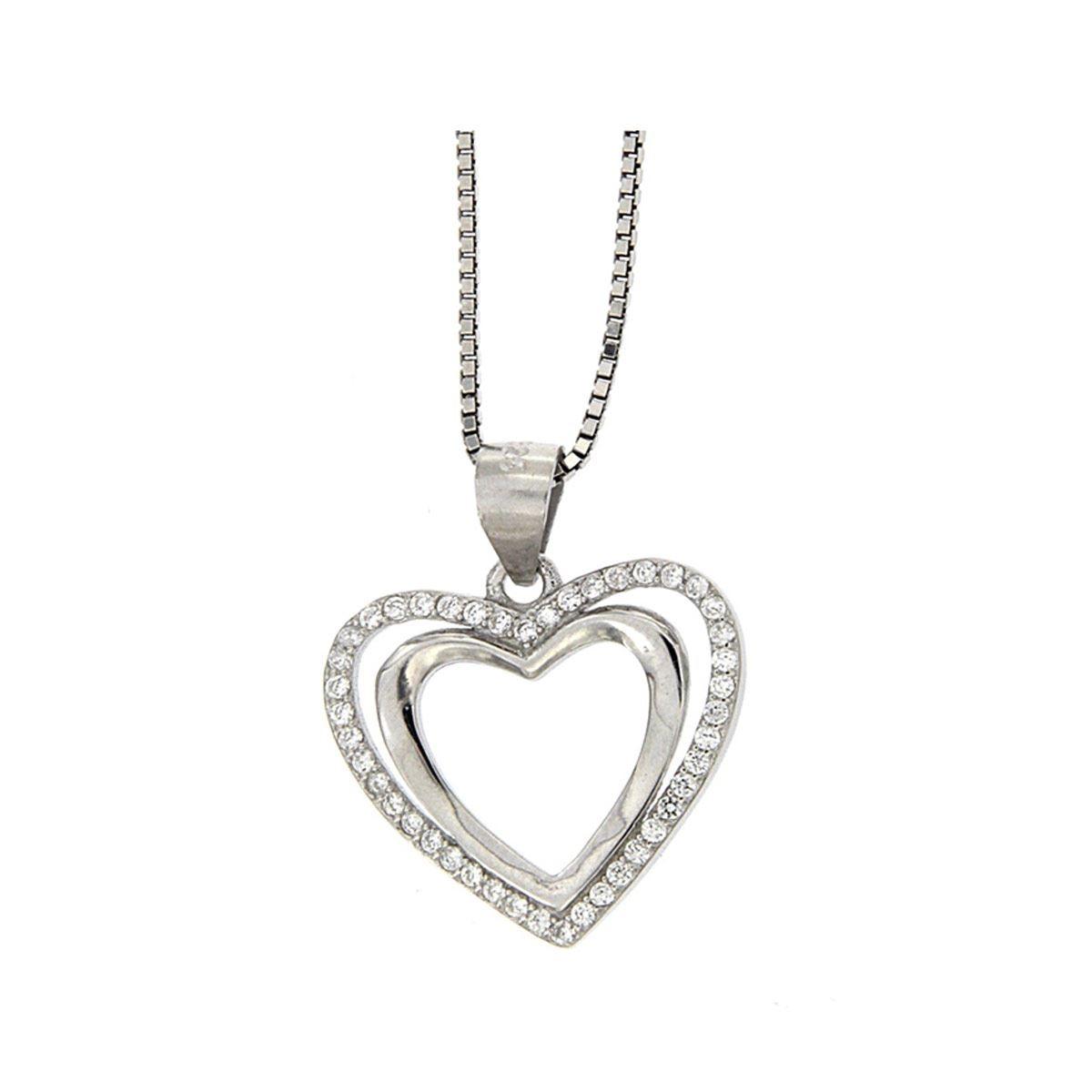 fc590f704bea Dije de Plata 925 con Diseño de Corazón