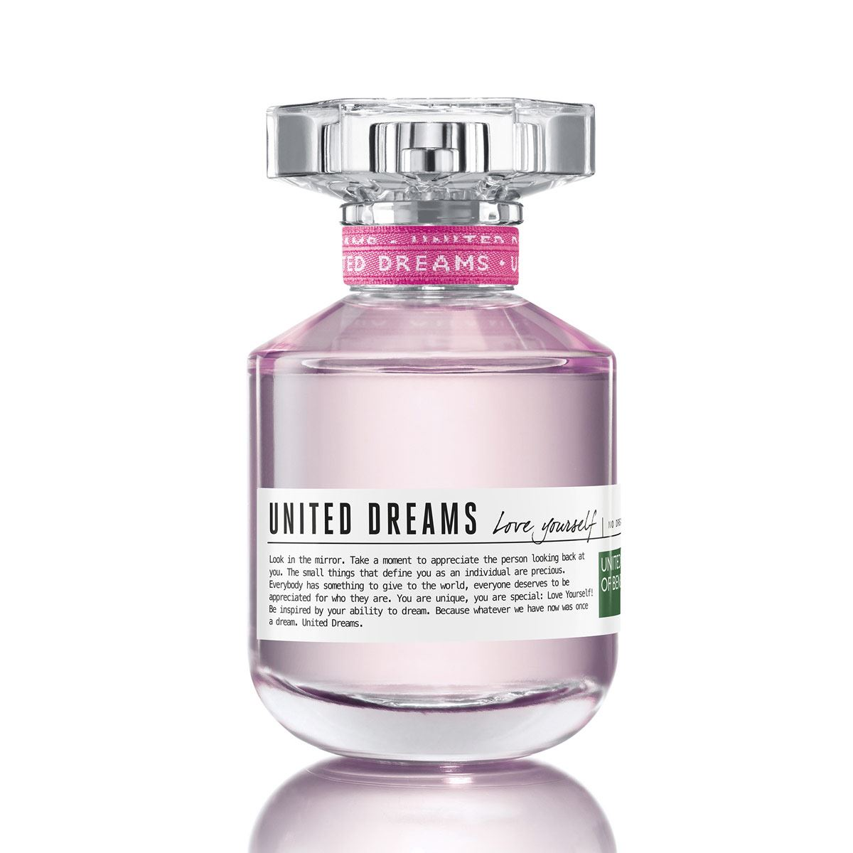 Fragancia para dama, benetton united dreams love yourself edt 80 ml  - Sanborns