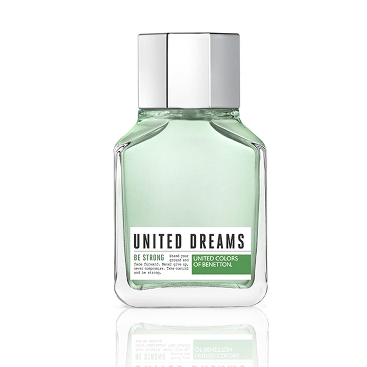 United dreams united colors of benetton mens be strong edt 100ml  - Sanborns