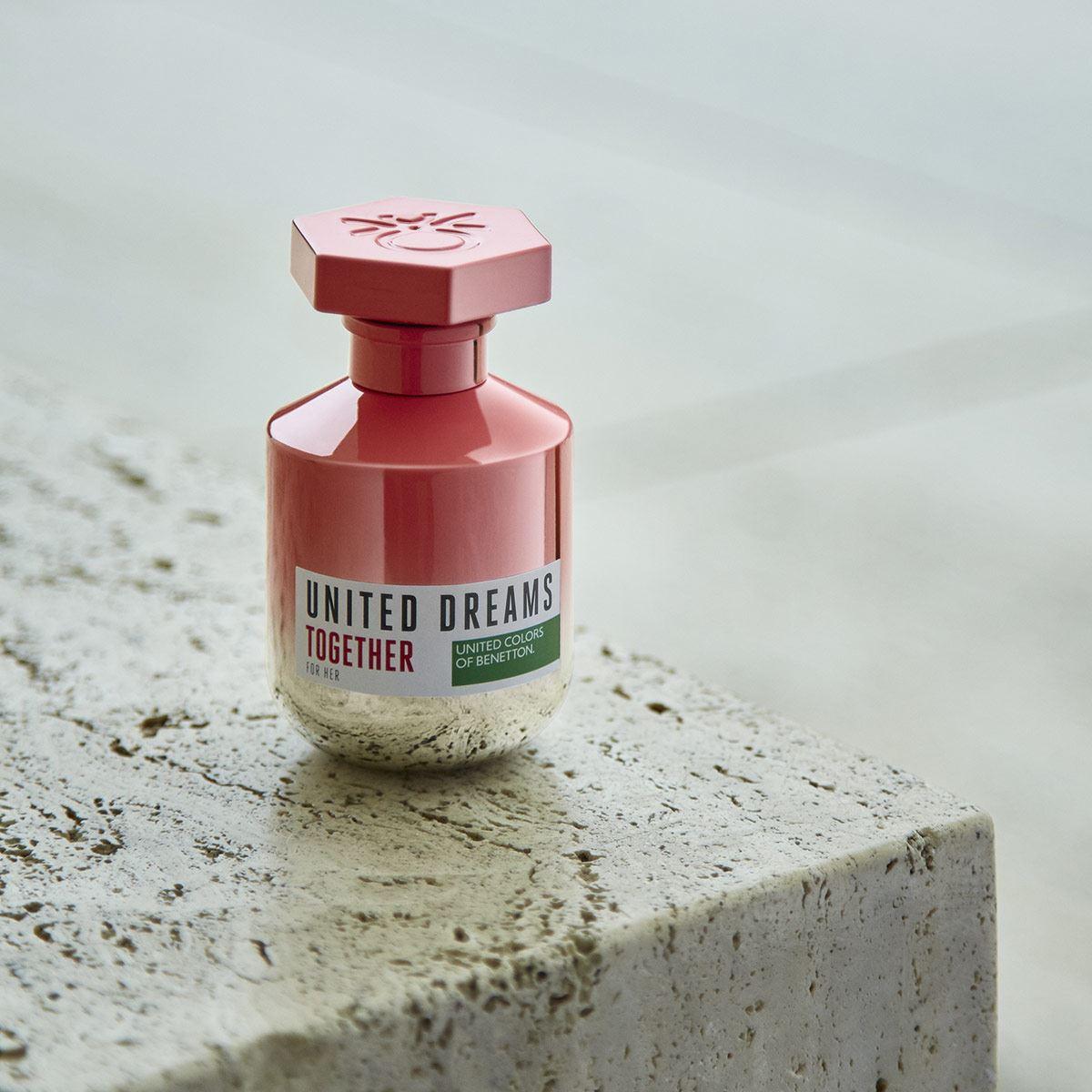 Fragancia para dama, Benetton, United Dreams Together for her, EDT 80 ML + 2 boosters 10ML
